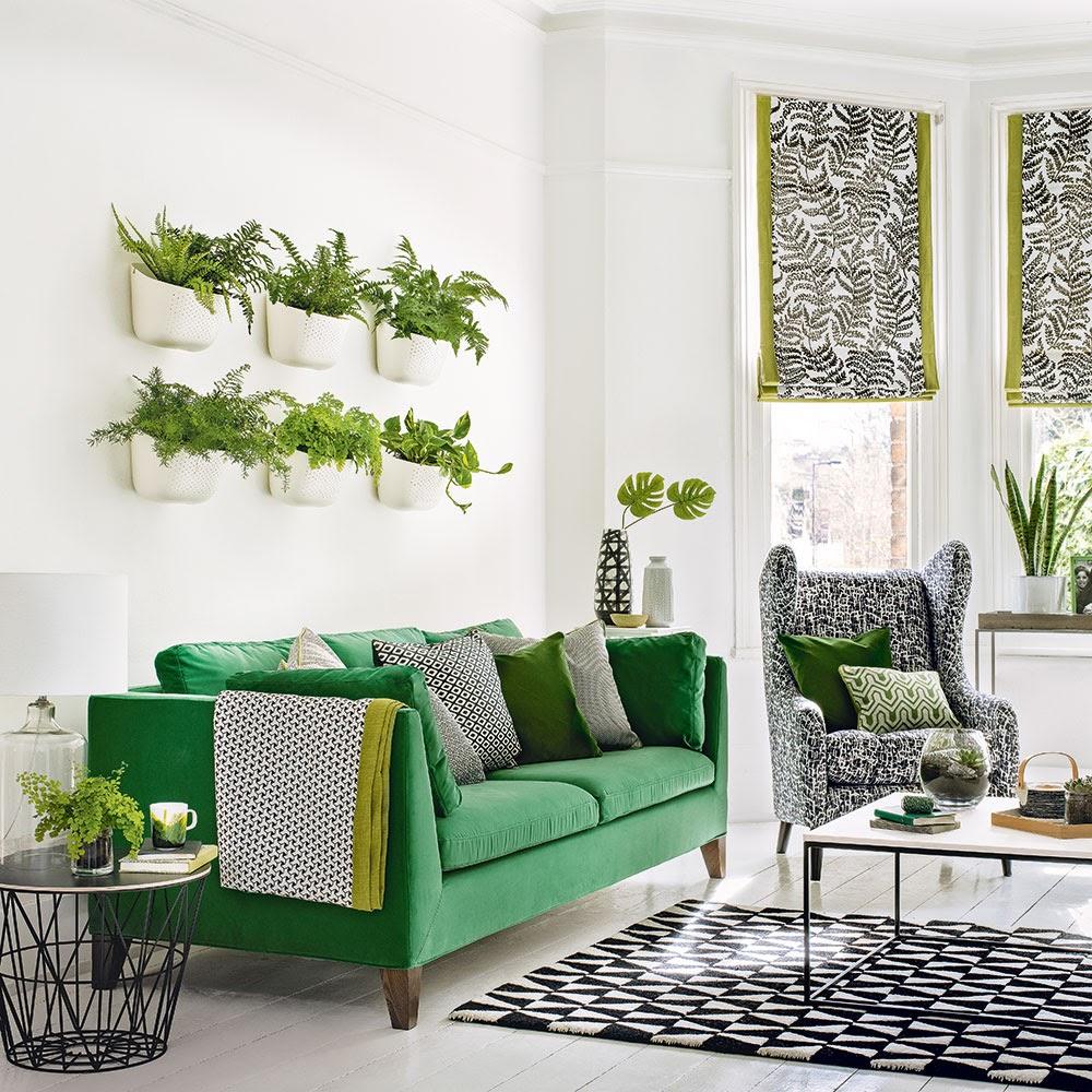 y-tuong-thiet-ke-10 10 ý tưởng trang trí phòng khách bằng cây cảnh vừa đẹp vừa hợp phong thủy